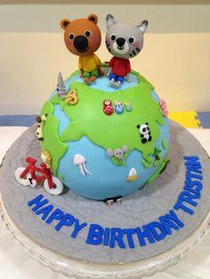 Mouk & Chavapa Globe Cake!
