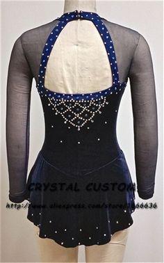 Girls Custom Figure Skating Dresses Graceful New Brand Kids Ice Skating Dresses For Competition DR3851