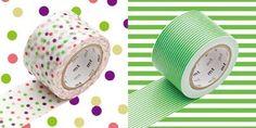 WASHI TAPE - WIDE G Marca: MT Masking Tape Set da 2 rotoli di washi tape in carta adesiva da 30mm x 10mt. (MTWIDE07Z)