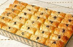 Baklava Pastry Pastry: Recipe for Soda Pastry, How To? Pastry Recipes, Cheese Recipes, Turkish Recipes, Ethnic Recipes, Pizza Pastry, Turkish Breakfast, Ramadan Recipes, Food Club, Food Design