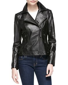 Quilted-Front+Leather+Jacket+by+Neiman+Marcus+at+Neiman+Marcus ... : neiman marcus quilted leather jacket - Adamdwight.com