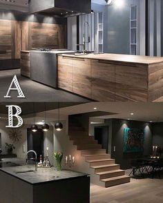 "10.5 tis. To se mi líbí, 328 komentářů – Home Designs & Luxury Villas (@elegantlife) na Instagramu: ""If you have to choose, which kitchen? Credits: A: Toncelli Cucine B: @funkis_460"""
