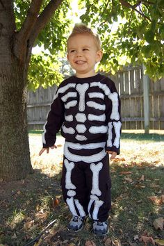 It's Good for the Heart: Skeleton Costume