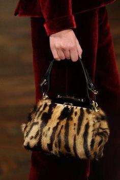 Hint of agression. #Tiger #Print #Ralph #Lauren #Satchel #Bag