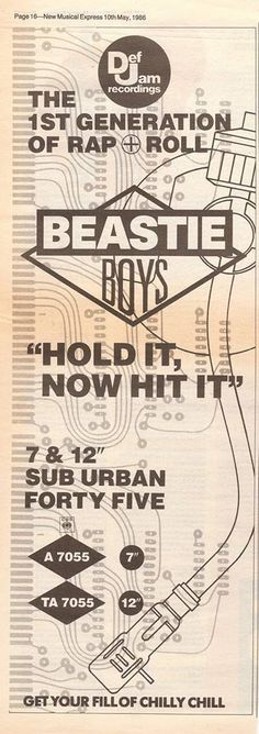(17) BeastieBoys – Hold it Now Hit it Lyrics | Genius Lyrics