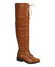 Look at this #zulilyfind! Bamboo Camel Jagger Over-the-Knee Boot by Bamboo #zulilyfinds
