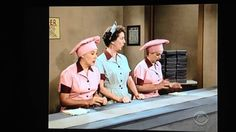 One of the most popular clips from I Love Lucy, reimagined in color, shows Lucy and Ethel working at a chocolate factory. They both held a job that weren't necessarily designed for women and by working, they were rebelling against the normal standards.