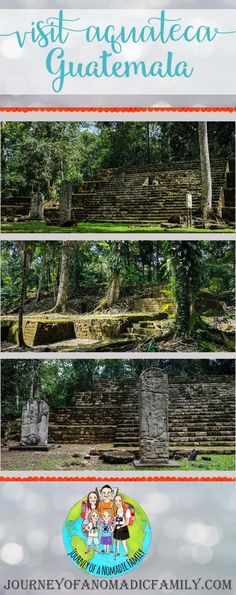 Fancy visiting some ruins that are so off the beaten track, you'll probably be the only people visiting? This is how we visited Aguateca with our 3 kids. Tikal, 3 Kids, What Is Life About, Family Travel, Paths, Journey, Tours, Deep, Group