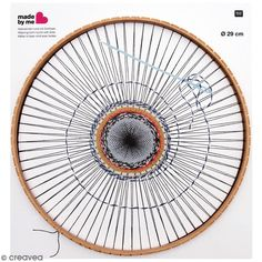 Buy Rico Round Weaving Loom from the Knitting & Weaving Looms range at Hobbycraft. Machine A Pompon, Julie Robert, Circular Weaving, Diy Trend, Bead Organization, Rico Design, Frame Crafts, Craft Box, Loom Weaving