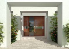 exterior front door - Foret Doors D001