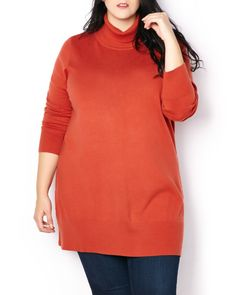 Turtleneck Tunic Sweater | Penningtons