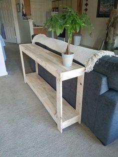New pallet sofa table ideas diy home decor, diy sofa table и decor. Diy Furniture Decor, Diy Furniture Projects, Diy Home Decor, Room Decor, Furniture Dolly, Wood Projects, Pallet Sofa Tables, Diy Sofa Table, Pallet Entry Table