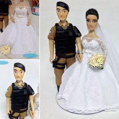 #noivinhospersonalizados  #profissões #PM #ROTAM #policial #algemados #noivinhosbiscuit #caraarteembiscuit #topodebolo #topodebolopersonalizado #wedding #weddinginvitation #weddingdress #weddingcaketopper #biscuit #casamentos #noiva #casar #weddingcake #noivos  Orçamentos: caraarteembiscuit@yahoo.com.br, ou envie uma mensagem inbox na página https://facebook.com/caraarteembiscuit