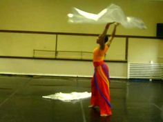 Praise  and worship dance practice