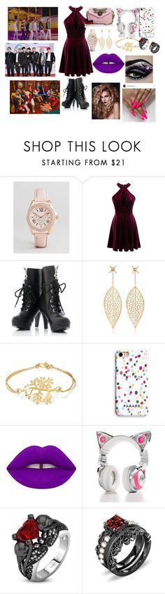 """BTS"" by btsloveforlife ❤ liked on Polyvore featuring ALDO, Lane172, Pippa Small, Lime Crime, Brookstone and Gucci"