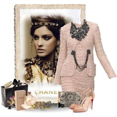 99% Chanel by flowerchild805 on Polyvore featuring Christian Louboutin and Chanel