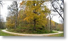 Around The Bend Metal Print by Bonfire #Photography