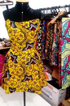 Moda artesanal- tecido africano - Rafa Que Faz