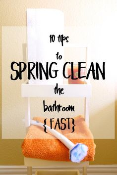 10 tips to spring clean the bathroom FAST with @clorox and @Walmart #ad