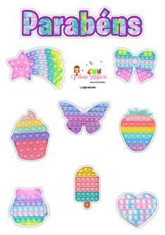 Lol Doll Cake, Lol Dolls, Cake Toppers, Scrap, Kawaii, Silhouette, Stickers, Pop, Birthday