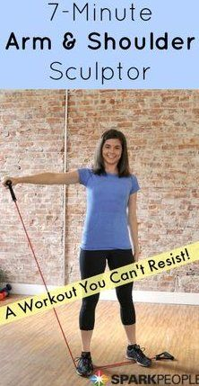 All you need is an inexpensive resistance band to strengthen and tone your arms, back and chest in minutes! All you need is an inexpensive resistance band to strengthen and tone your arms, back and chest in minutes! Band Workouts, Workout Videos, At Home Workouts, Exercise Bands, Band Workout For Arms, Workout Exercises, Fitness Exercises, Body Fitness, Fitness Diet