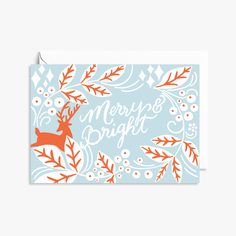 Merry and Bright - Wild Wagon Co - Stationery goods for the wild ones
