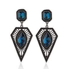 New Style Ancient Ethnic Long Big Drop Earrings ( FREE SHIPPING )