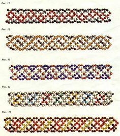 colorful delicate beaded bracelet