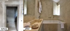 My Interiors - Before & After Hotel Bathroom Design