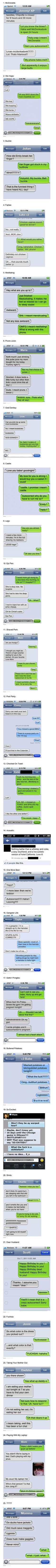 Great collection of funny autocorrect text message fails