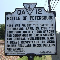 Battle of Petersburg, Virginia