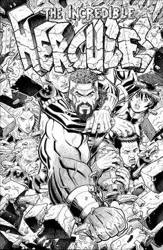Incredible Hercules #114 cover - Art Adams