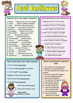 PAST CONTINUOUS worksheet - Free ESL printable worksheets made by teachers