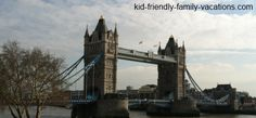 The Tower Bridge in London is an iconic bridge in the city