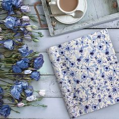 Filofax Clipbook in Indigo Flowers. Only available from Filofax UK. Lovely to touch, wonderful features. Organiser Diary, Indigo Flower, Personal Organizer, Filofax, Notebook Stationery, Stationery Craft, Organization, Watercolour Flowers, Paper