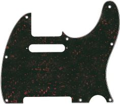 Fender Accessories 099-2152-000 Telecaster Electric Guitar Pickguard by Fender. $27.90. Telecaster Pickguard, Tortoise Shell 4-ply (TS/W/B/W), 8 Hole. Fits American Series, American Standard, Hot Rod and Deluxe Series Telecasters (USA), Standard and Deluxe Series Telecasters (Mexican).