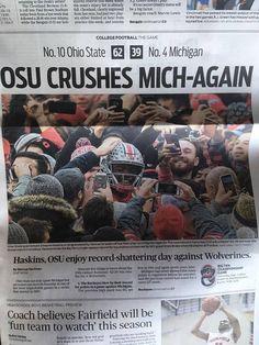 Oregon Ducks Football, Ohio State Football, Ohio State Buckeyes, College Football, Sports Ohio, Oklahoma Sooners, American Football, Football Team, Ohio State Vs Michigan