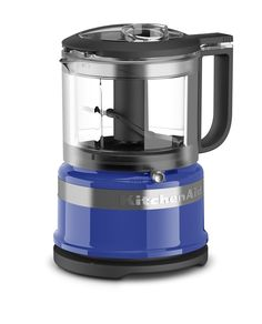 KitchenAid KFC3516TB 3.5 Cup Mini Food Processor, Twilight Blue *** This is an Amazon Affiliate link. Check out the image by visiting the link.
