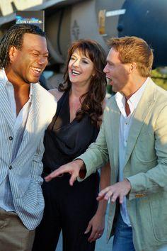 Michael Shanks, Chris Judge, and Amanda Tapping #SG1