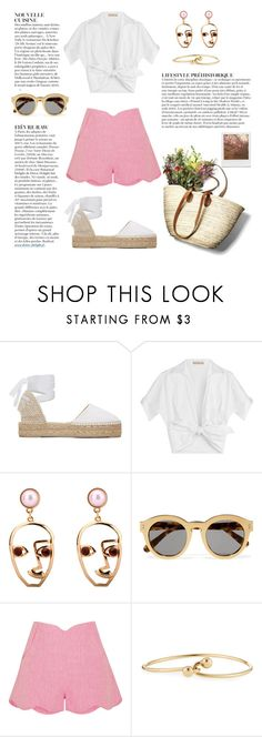 """""""Pink"""" by petra0710 ❤ liked on Polyvore featuring Manebí, Michael Kors, STELLA McCARTNEY, Paper London, Anja, Impossible Project and Jules Smith"""