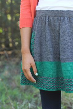 New Girl knitting pattern by Allyson Dykhuizen, from Holla Knits Fall 2012 Collection