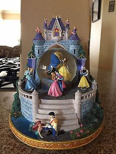 Disney rara belleza y la Bestia Musical bola de nieve con Princesas