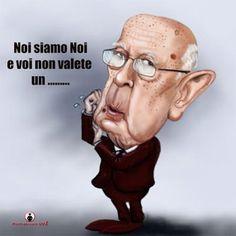 """ITALIAN COMICS - """"Il Mondo in una vignetta"""" di Pierfrancesco Uva: Giorgio Napolitano e i Cinquestelle """"Chi la fa, l'aspetti..."""""""