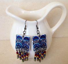 Conjunto de collar aros y pulsera SÚPER por LasJoyitasDeMarie, $33.00