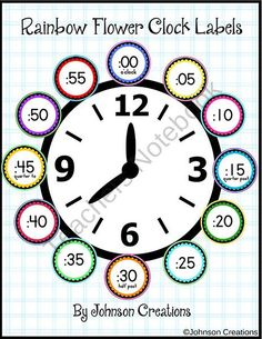 Practice Telling Time with Play Watches: 4 O'Clock | Telling time ...