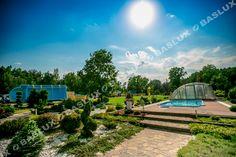 Baslux Baseny Siedziba Firmy / Baslux Pool Company Pool Companies, Pools, Transportation, Mansions, House Styles, Garden, Home Decor, Garten, Decoration Home
