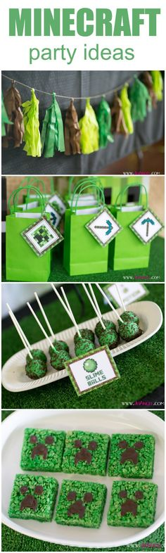 AWESOME Minecraft Party Ideas