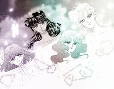Outer Senshi of Sailor Moon