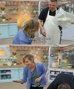 THE GREAT BRITISH BAKING SHOW THIS WAS SOOO FUNNY