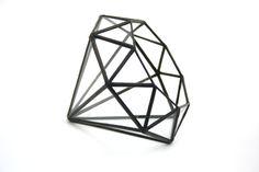 Diamond //made with recycled glass//  Medium von megamyers auf Etsy, $90.00